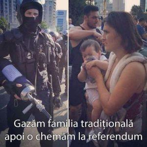 Gázosítjuk a hagyományos családokat, aztán meg referendumra hívjuk